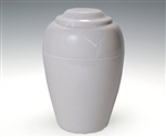Ivory Grecian Cultured Marble Urn