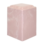 Pink Agean Cultured Marble Urn