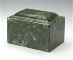 Emerald Ionian Cultured Marble Urn