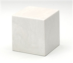 White on White Small Cube Keepsake