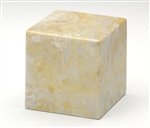 Golden Wheat Small Cube Keepsake