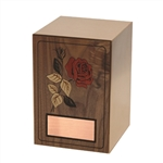 Mosaic Rose - Walnut