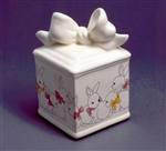 Bow Box with Bunnies