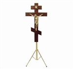 Russian Orthodox Crucifix on Adjustable Stand