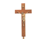 Crucifix with adjustable stand