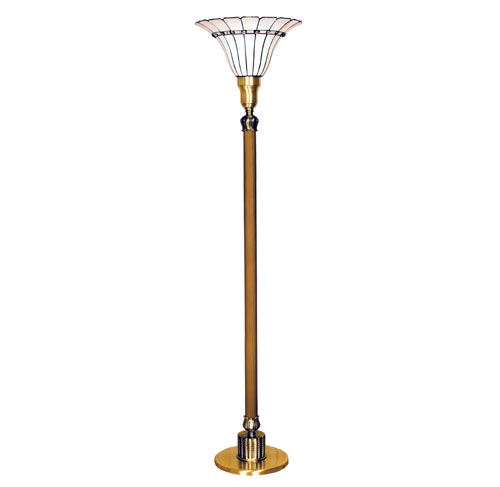 Tiffany Style Torchiere Lamp