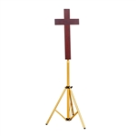 Plain Cross with adjustable stand