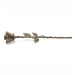 Pewter Rose Keepsake