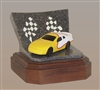Yellow Race Car Keepsake