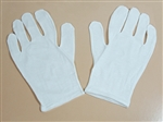 Economy Cotton Pallbearer Gloves