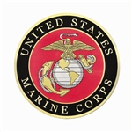 "Marine Corps 12"" Hearse/Lead Car Magnet"