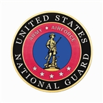 "National Guard 12"" Hearse/Lead Car Magnet"