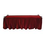 Frameless Church Truck Drape