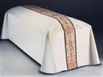 Casket Pall with Coronation Tapestry
