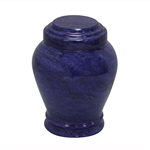 Embraced Blue Keepsake Marble Urn