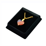 Heart Patriotic - Gold