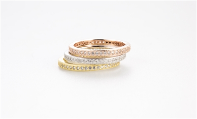 .925 Sterling Silver Stacking Rings