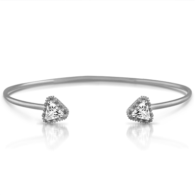 Dual Triangle Bangle