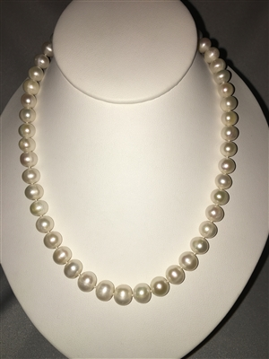 White Freshwater Pearl Necklace