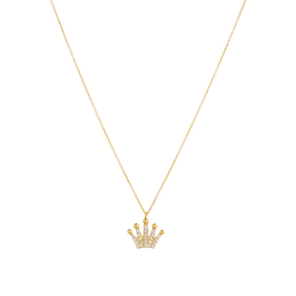 14k Gold Over Sterling Silver Crown
