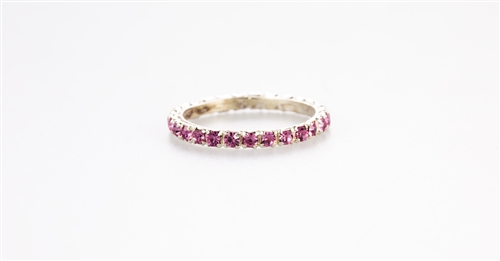 Delightful Pink Band Ring