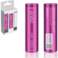Efest IMR 18650 3500mAh 3.7v Li-Mn 20A buy from NUCIG UK.