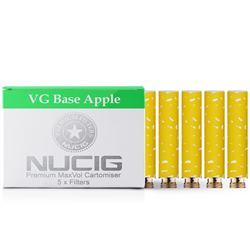 Apple Nicotine Max Volume Cartomiser Pack