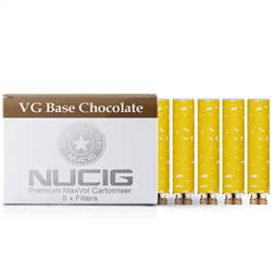 Chocolate Nicotine Max Volume Cartomiser Pack