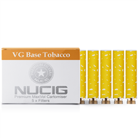 Tobacco Flavour Filter Max Volume Cartomiser Pack
