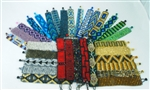 "1"" Friendship Bracelets - Mayan Design"