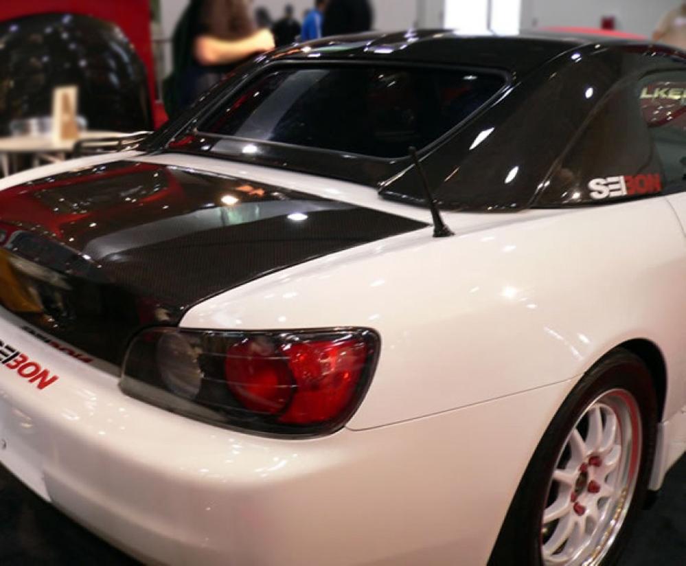 2000 - 2003 Honda S2000 Carbon Fiber Hardtop - Seibon