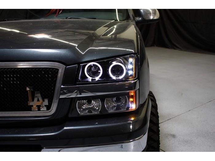2003 2007 Chevy Silverado 1500hd Projector Led Halo