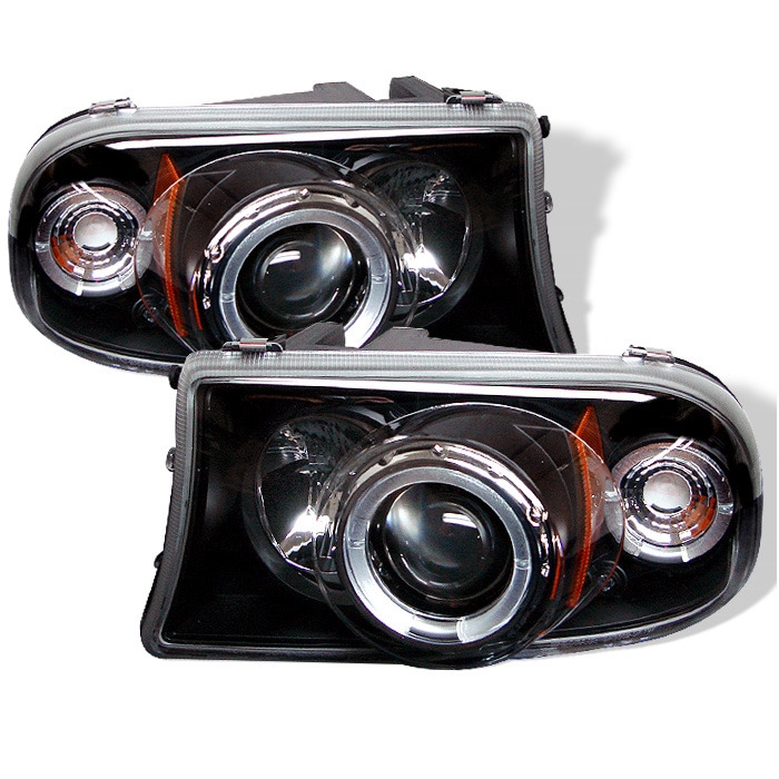 Spyder Projector Led Halo Headlights For 1998 2003 Dodge Durango