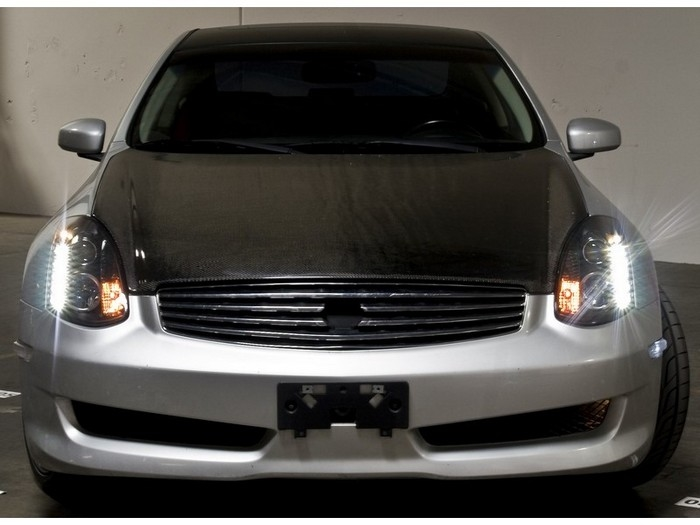 2003 2007 Infiniti G35 Coupe Halogen Model Projector Drl Led