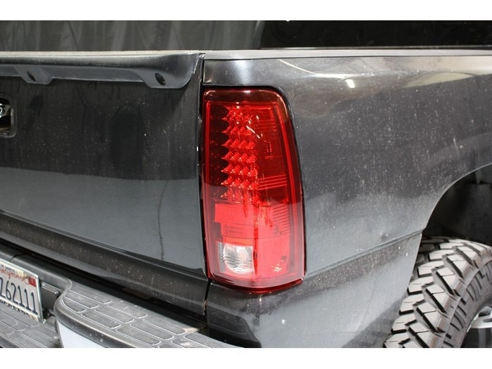 2003 2007 Chevy Silverado Led Tail Lights Red Clear