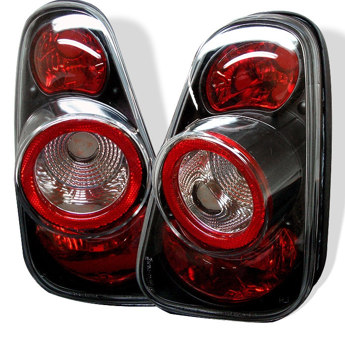 2007 - 2008 Mini Cooper Convertible Euro Style Tail Lights - Black