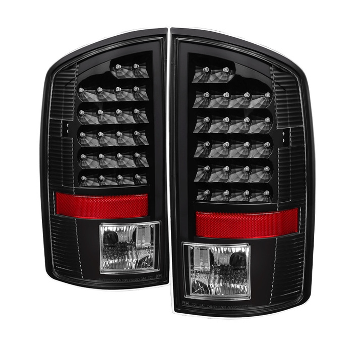 Xtune Led Tail Lights For 2002 2005 Dodge Ram 1500