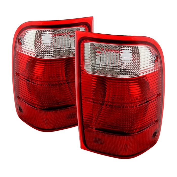 Xtune Oem Style Tail Lights For 2004 2005 Ford Ranger