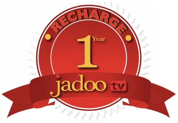 Jadoo TV Box Recharge - 12 Months