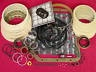 350 TRANSMISSION MASTER REBUILD KIT 69-79 less steels Turbo Hydramatic 350 (A44007)