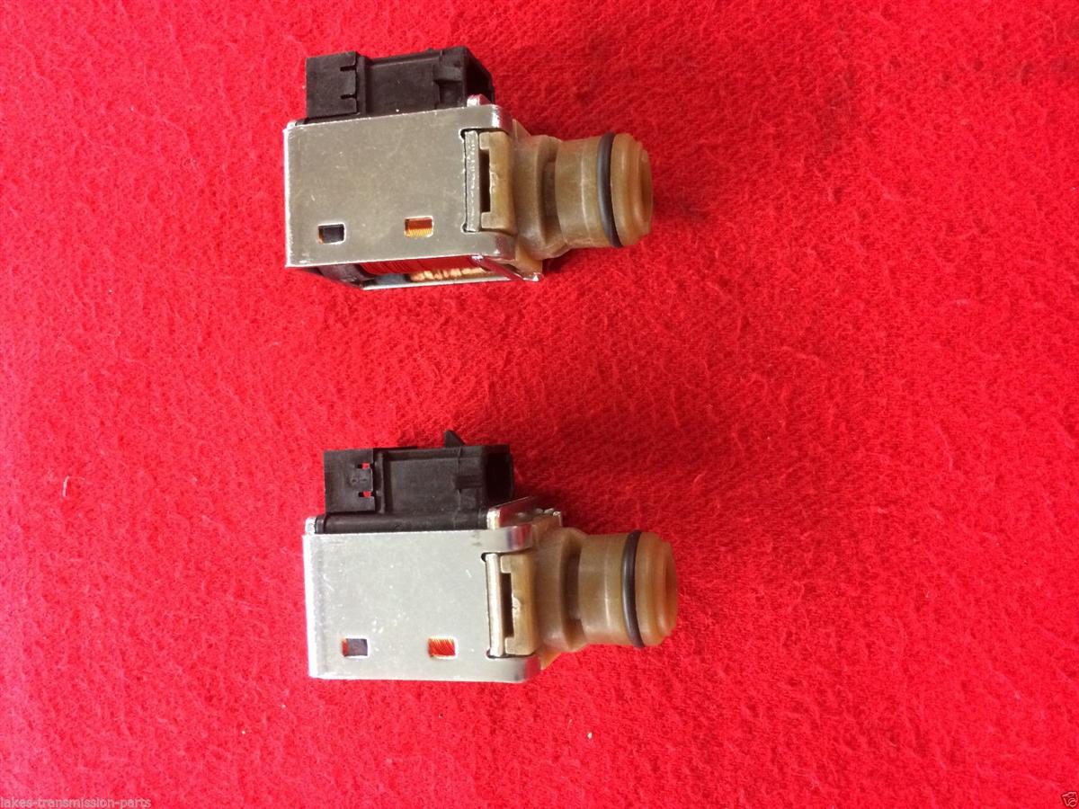 4l60e transmission shift solenoids 1-2 & 3-4 (2) oem new shift solenoids a  & b (10478120) (d74421)