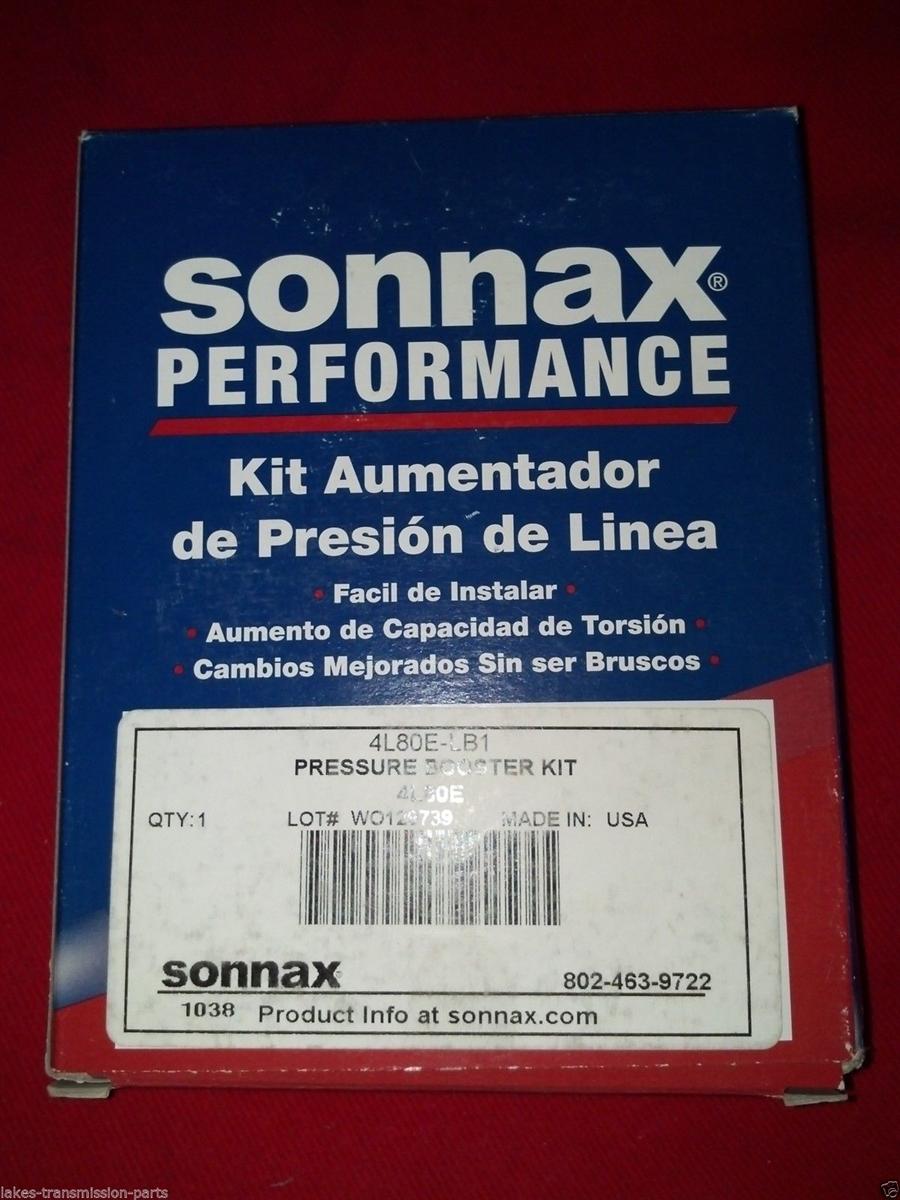 sonnax 4l80e, 4l85e all years boost valve w/o-rings and pressure spring  (4l80e-lb1) (s34507fa)