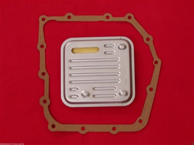 A604, 40TE Transmission Pan Gasket & Filter 89-UP ( 4864505AB) (92010)