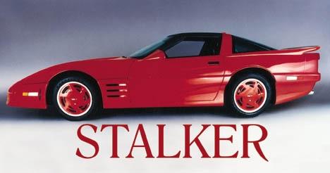 1-2157 Corvette Stalker Wide Body Kit  Coupe 1985-1986-1987-1988-1989-1990
