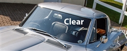 01 - 22212 - C2 - 1963-1967 - Windshield - Clear