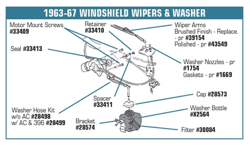 128499 6367 Washer Hose Set Wgrommet Wair Conditioning Or 396. Corvette Parts Worldwide Price Guarantee. Corvette. 67 Corvette Air Conditioning Diagram At Scoala.co
