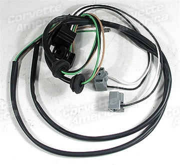 1958 corvette wiring harness 1 29416 58 62 harness headlight bucket extensions 2 piece  1 29416 58 62 harness headlight bucket