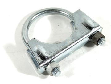 corvette part exhaust pipe clamp 1 3 4 inch