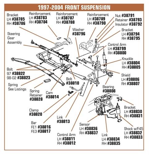 1-38837 Corvette Position Sensor  Right Hand  1997-1998-1999-2000-2001-2002-2003-2004