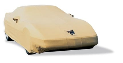 Tan C4 Corvette 1991-1996 Premium Flannel Car Covers